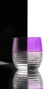 Waterford Mixology Circon Purple Tumbler, Set of 2