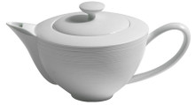 J.L Coquet Hemisphere White Coffee Pot