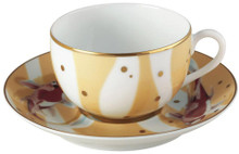 Raynaud Constellation Carp Set of 2 Tea Cup and Saucer