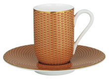 Raynaud Tresor Orange Expresso Cup & Saucer