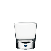 Orrefors Intermezzo Blue Double-Old Fashioned Pair