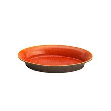 Jars Tanga Orange Large Oval Dish 14.7 x 9.8""