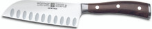 "Heritage House's Wusthof Ikon Blackwood 5"" Santoku, Hollow Edge"