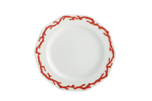 Heritage House's Mottahedeh Barriera Corallina Red Bread Butter Plate