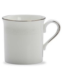 Lenox Hannah Platinum Mug 12 Oz Set of 4