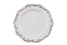 Heritage House's Mottahedeh Barriera Corallina Platinum Dinner Plate