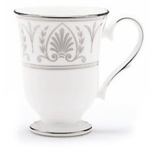 Lenox Royal Hannah Platinum Accent Mug 13 Oz Set of 4
