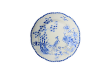 Heritage House's Mottahedeh Virginia Blue Dessert Plate