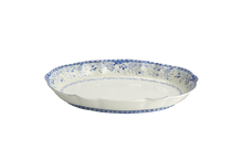 Heritage House's Mottahedeh Virginia Blue Serving Oval Dish