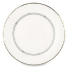 "Lenox Solitaire White 9"" Accent Plate"
