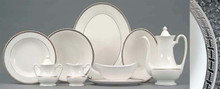 Pickard High Point Platinum Oval Vegetable Dish