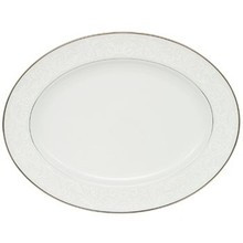 """Waterford Baron's Court Oval Platter 15 1/4"""""""