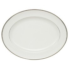Waterford Kilbarry Platinum Oval Platter 15 1/4""