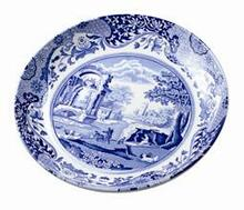"Spode Blue Italian Pasta Bowl 9"" set  of 6"