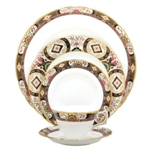 Royal Crown Derby Chelsea Garden 5 Piece Place Setting