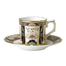 Royal Crown Derby Chelsea Garden Coffee Cup & Saucer