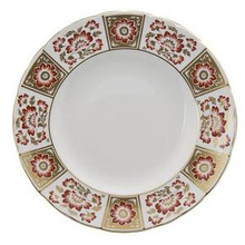 """Royal Crown Derby Panel Red Dinner Plate 10"""""""
