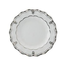 Royal Crown Derby Elizabeth Platinum Salad Plate 8""