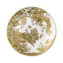 """Royal Crown Derby Gold Aves Salad Plate 8"""""""