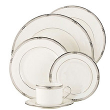 Lenox WESTERLY PLATINUM 6 PIECE PLACE SETTING