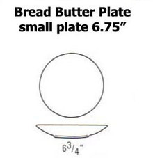 """Lindt Stymeist Bread Butter Plate (Small Plate) ROUND 6.75"""" New"""