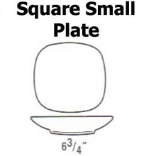 """Lindt Stymeist SQUARE Small Plate 6.75"""" new"""