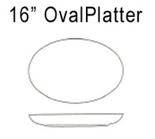 "Lindt Stymeist 16"" Oval Platter new"
