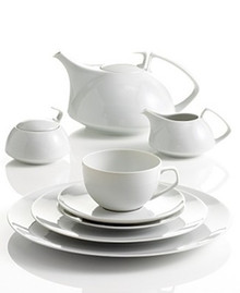 Rosenthal TAC 02 White 5 Piece Place Setting (Dinner, Salad, Bread & Butter Plate, Combi Cup & Saucer)