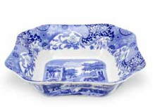 Spode Judaica salad serving dish sqare 9.25""