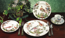 Mottahedeh Chelsea Bird 5 Piece Place Setting