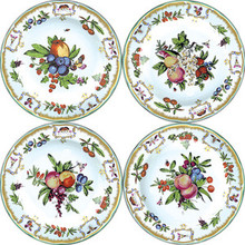 "Mottahedeh Duke of Gloucester Bread & Butter Plates 7.25"" (set of 4)"