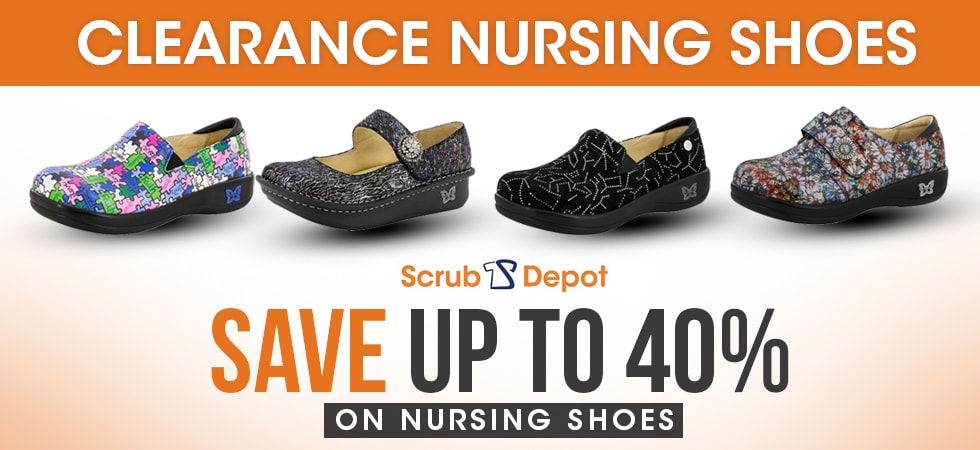 clearance alegria nursing shoes