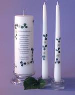 Irish Wedding Blessing framed in a simple 2 corner design