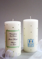 SUDC Swarovski Crystal Memorial Candles