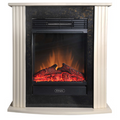 Dimplex Mini Mozart Black Electric Fireplace Suite