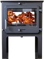 Ekol Clarity Double Sided High Multi Fuel Stove