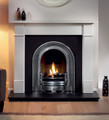 Coronet Cast Iron Insert - Gallery Fireplace Collection