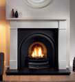 Traditions Cast Iron Insert - Gallery Fireplace Collection