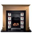 Howard Oak Mantel - Gallery Fireplace Collection