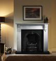 Richmond Carrara Marble Surround - Gallery Fireplace Collection