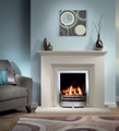 Cranbourne Limestone Fireplace - Gallery Fireplace Collection