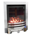 """Ultima Fires 16"""" High Efficiency Full Depth Inset Gas Fire Glass Fronted"""