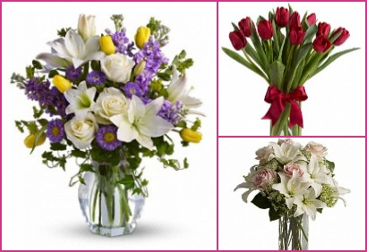 Send fresh Easter flower arrangements