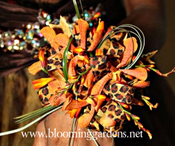 Unleash your inner wild child on prom night!  Orchids, ribbons and more help you to express yourself!