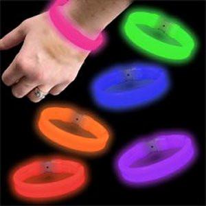 Wide Glow Bracelets