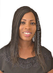 Fully hand braided lace front wig - Hannah 2 in 14""