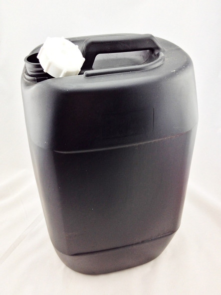 30 Litres HDPE Plastic Jerry Can (Black)