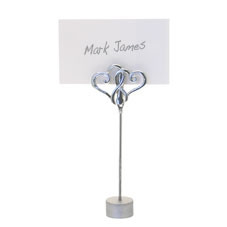 Linked Hearts Place Card Holder