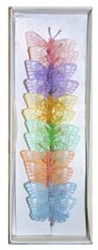 Pastel Feather Butterfly (1.5 inch)