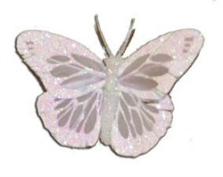 Lavender Feather Butterfly (2.75 inch)